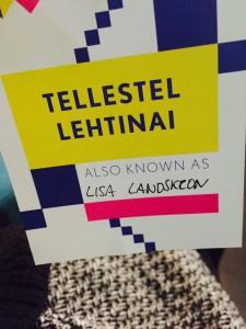 VR Vienna meetup - Name badge