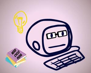 cute nerd pc ted