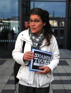 Shades Tour guide Barbara