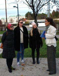 Shades tours in Schweizergarten